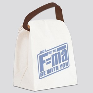 F=ma Canvas Lunch Bag