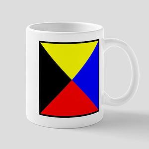 Nautical Flag Code Zulu Mug
