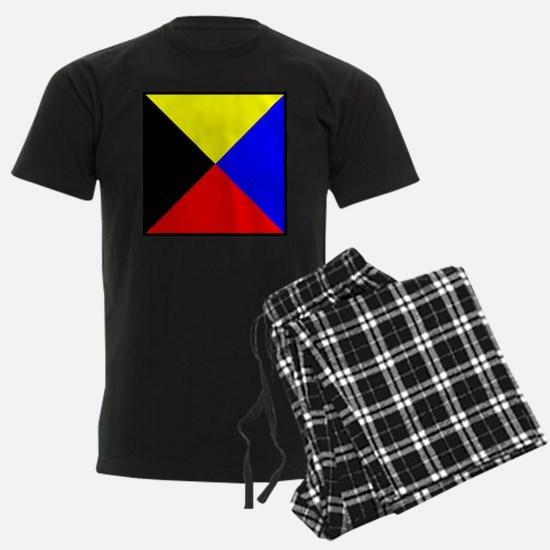 Nautical Flag Code Zulu Pajamas