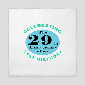 50th Birthday Humor Queen Duvet