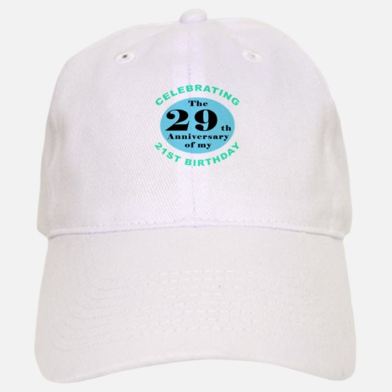 50th Birthday Humor Baseball Baseball Cap
