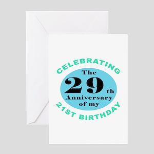 50th Birthday Humor Greeting Card