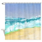 Ocean Vigor Shower Curtain