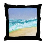 Ocean Vigor Throw Pillow