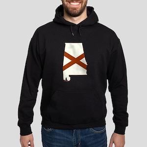 Alabama Flag Hoodie (dark)