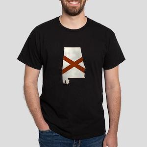 Alabama Flag Dark T-Shirt