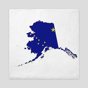 Alaska Flag Queen Duvet