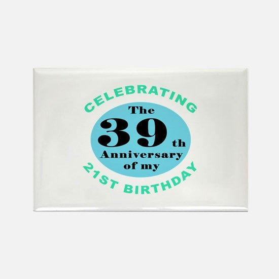 60th Birthday Humor Rectangle Magnet