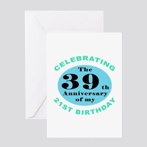 60th Birthday Humor Greeting Card