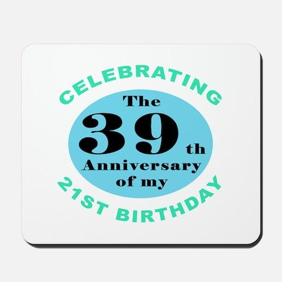 60th Birthday Humor Mousepad