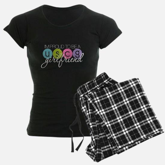 Proud to be a USCG Girlfriend Pajamas