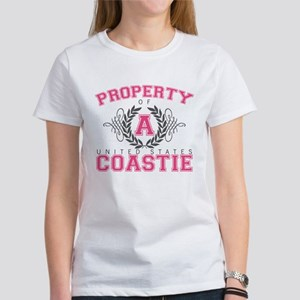 Property of a U.S. Coastie Women's T-Shirt