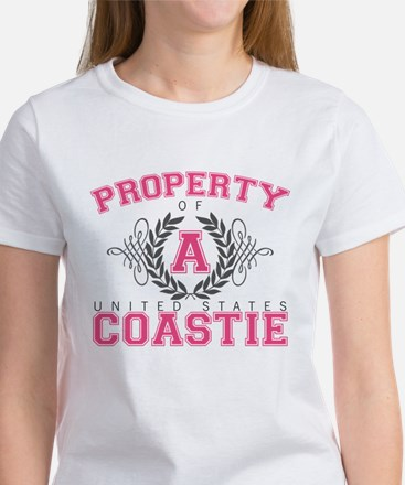 Property of a U.S. Coastie Women's T-Shirt