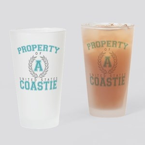 Property of a U.S. Coastie Pint Glass