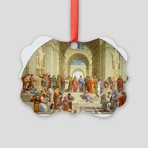 Raffaello School of Athens Picture Ornament