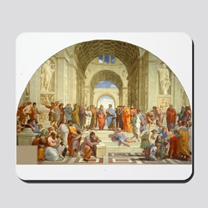Raffaello School of Athens Mousepad