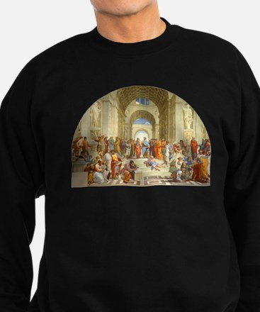 Raffaello School of Athens Sweatshirt (dark)
