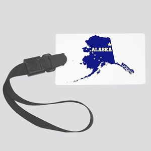 Alaska Flag Large Luggage Tag