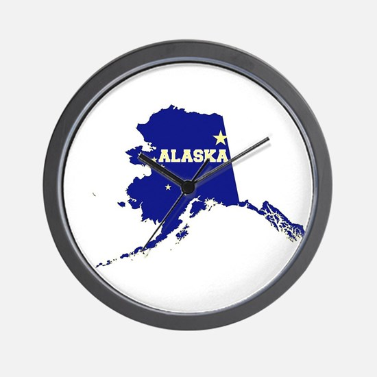 Alaska Flag Wall Clock