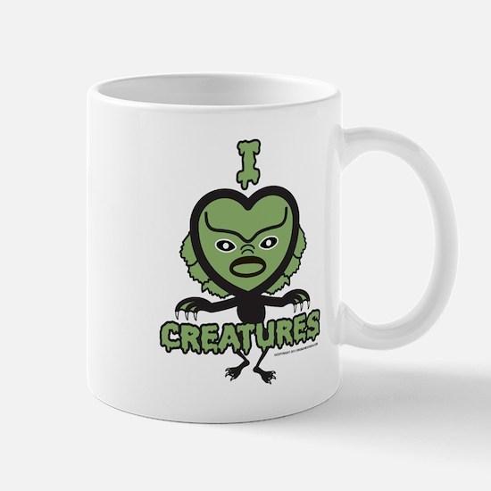 I Heart Creatures Mug