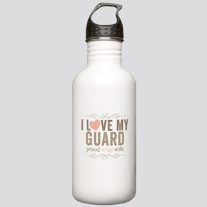 I Love my Guard Stainless Water Bottle 1.0L