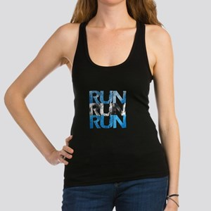 RUN x 3 Racerback Tank Top