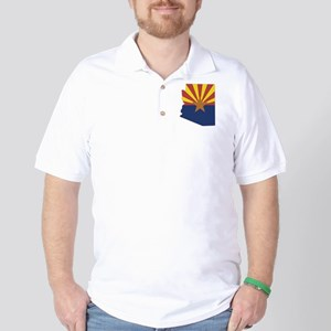 Arizona Flag Golf Shirt