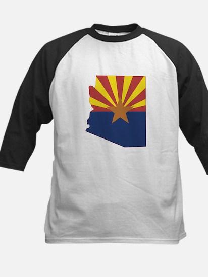 Arizona Flag Kids Baseball Jersey