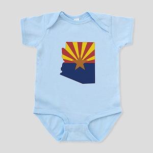Arizona Flag Infant Bodysuit