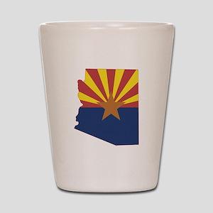 Arizona Flag Shot Glass