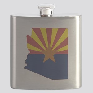 Arizona Flag Flask