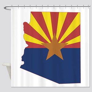 Arizona Flag Shower Curtain