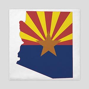 Arizona Flag Queen Duvet