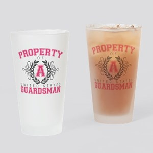 Property of a U.S. Guardsman Pint Glass