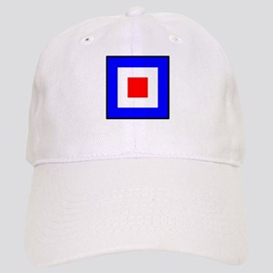Nautical Flag Code Whiskey Baseball Cap