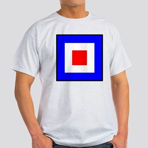 Nautical Flag Code Whiskey T-Shirt