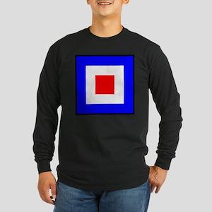 Nautical Flag Code Whiskey Long Sleeve T-Shirt