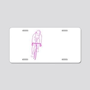 Cycle Woman Aluminum License Plate