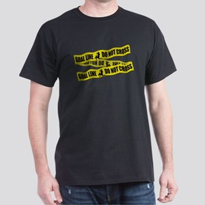 Lacrosse Goalie Crime Tape T-Shirt