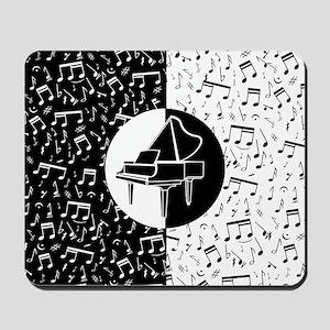 Piano lover art Mousepad