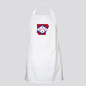 Arkansas Flag Apron