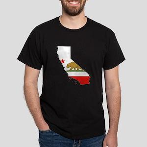 California Flag Dark T-Shirt