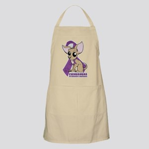 Chihuahuas for Alzheimers Awareness Apron