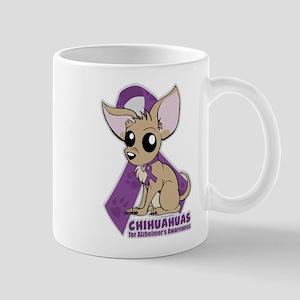 Chihuahuas for Alzheimers Awareness Mug