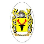 Calderbank Sticker (Oval 50 pk)