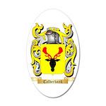 Calderbank 35x21 Oval Wall Decal
