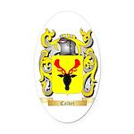 Calder Oval Car Magnet