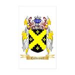 Caldecourt Sticker (Rectangle 50 pk)