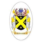 Caldecourt Sticker (Oval 10 pk)