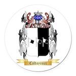 Caldayroux Round Car Magnet